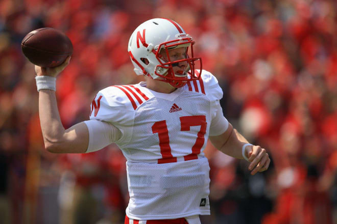 Ryker Fyfe is the likely starting quarterback for Nebraska next week.