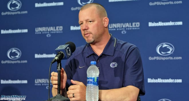 Lorig will enter his second season in charge of Penn State's special teams operation in 2020.
