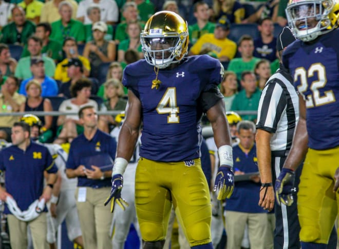 low priced 50d9a e8117 BlueAndGold - Notre Dame At No. 4 In First College Football ...