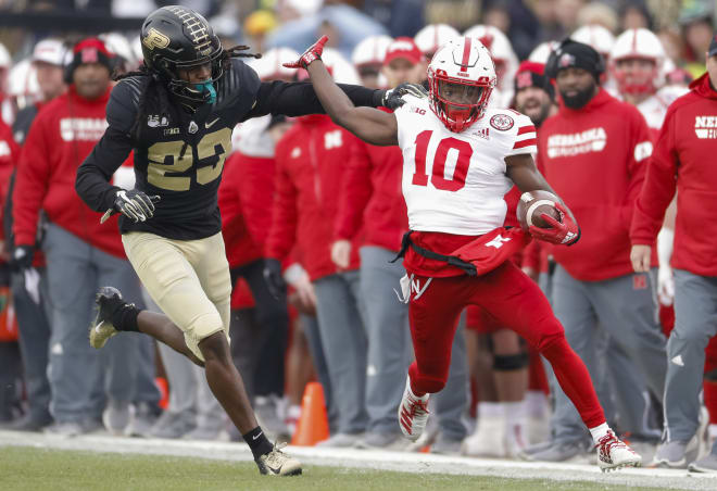 Wide receiver JD Spielman had six catches for 123 yards on Saturday. He had the only two plays in the game longer than 40 yards.