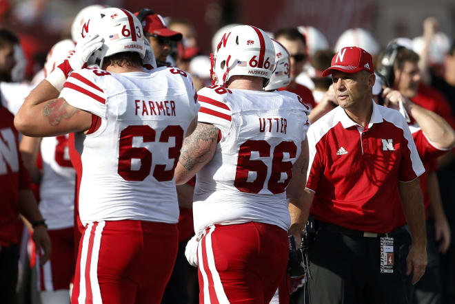 The Huskers' offensive line is as beat up as ever coming off Saturday's win over Indiana.