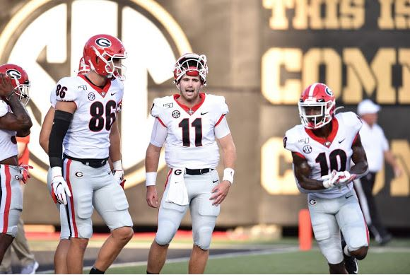 Jake Fromm and company should have an easy time against Murray State.