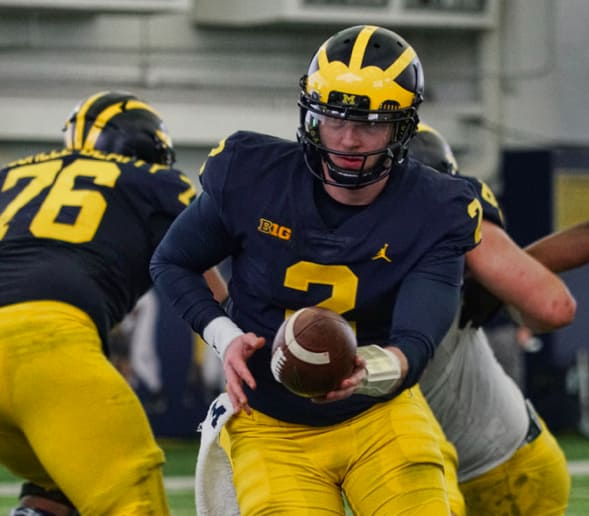 Jim Harbaugh Officially Names Michigan's Starting Quarterback