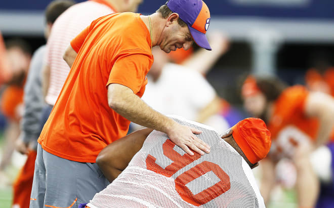 Clemson's Lawrence among 3 Tigers to fail drug tests