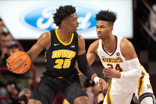 Iowa Stuns No. 5 Michigan 74-59