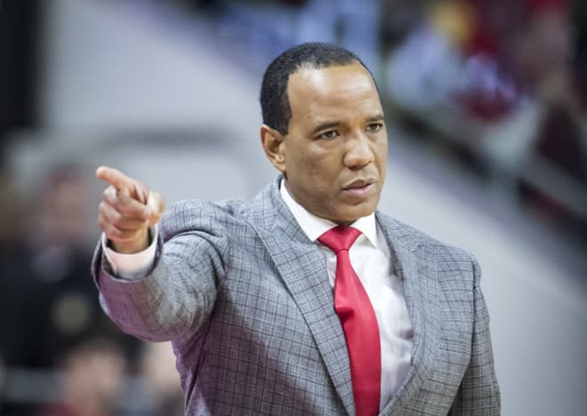 Keatts was coaching his first game at NC State against a Tobacco Road rival.