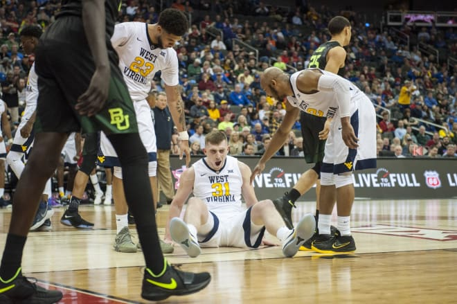 WVSports.com - Routt makes most of his minutes in WVU win over Baylor