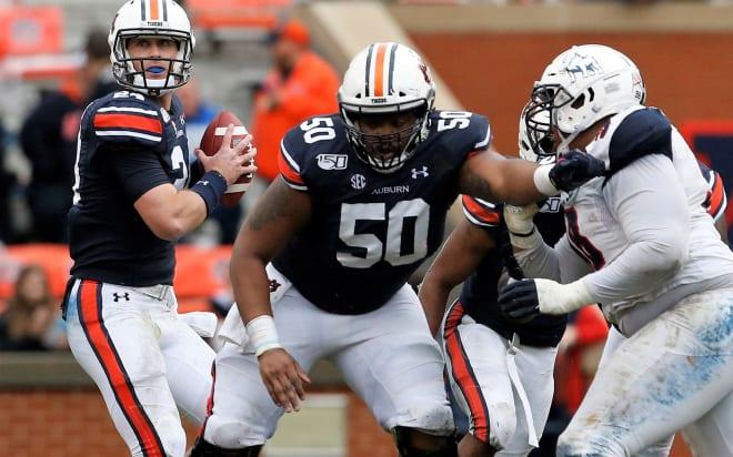 Auburn blanks Samford in Iron Bowl warmup