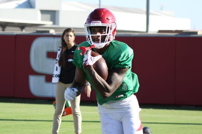 Arkansas junior wide receiver Jordan Jones returns to full-go for week seven.