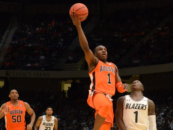 huge selection of a74d2 b561a AuburnSports - Auburn squeaks out overtime win over UAB in ...