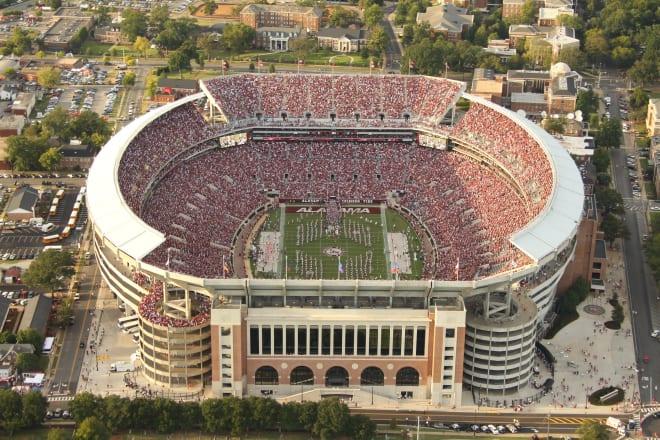 Bryant-Denny Stadium. Photo | Getty Images
