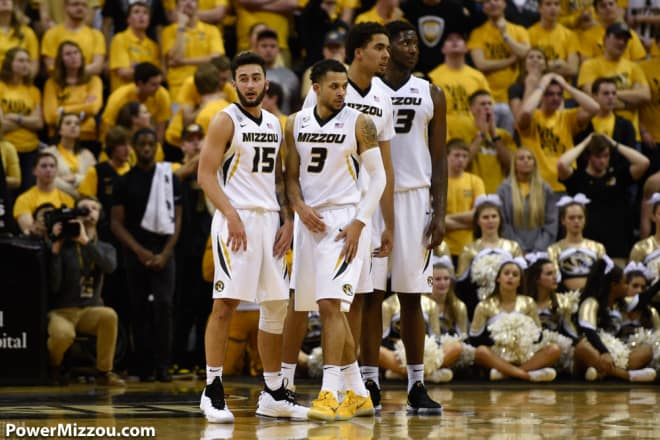 Jordan Barnett Won't Play in Missouri's NCAA Tournament Opening Game