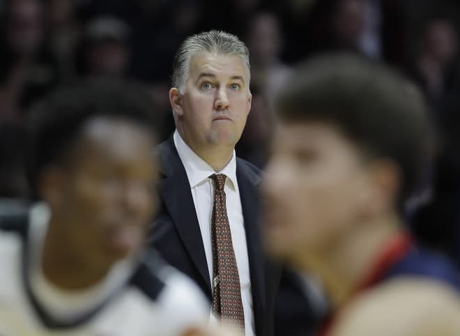 Matt Painter and Purdue looked east for this year's preseason scrimmage pairing.