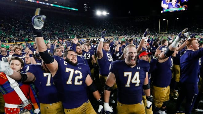 BlueAndGold - Notre Dame's Scholarship Numbers Crunching