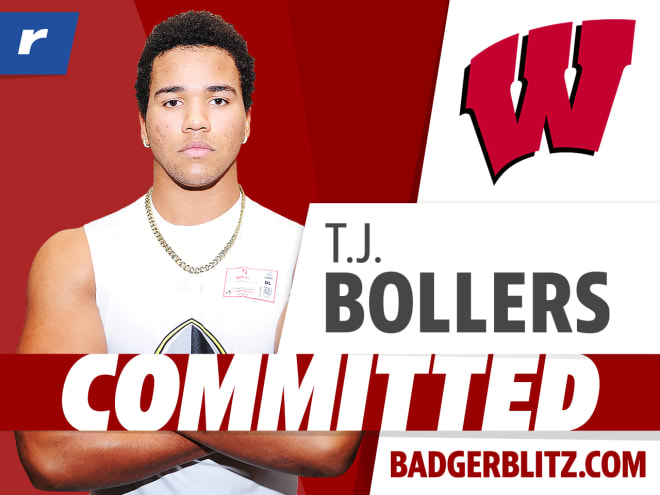 Wisconsin received a commitment from four-star edge T.J. Bollers on Thursday.