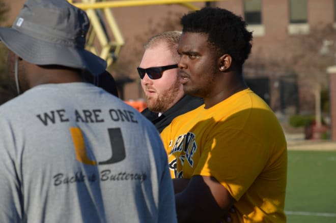 Farmville Central rising senior defensive lineman and future Pirate Keziah Everett made a his commitment decision on Monday.