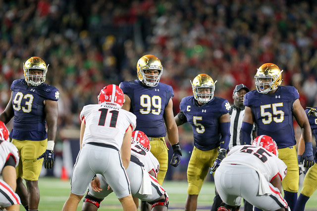 College GameDay's Analysts Predict Whether Notre Dame Will Go Over/Under 7.5 Wins
