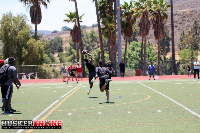 WR Jamire Calvin makes the grab
