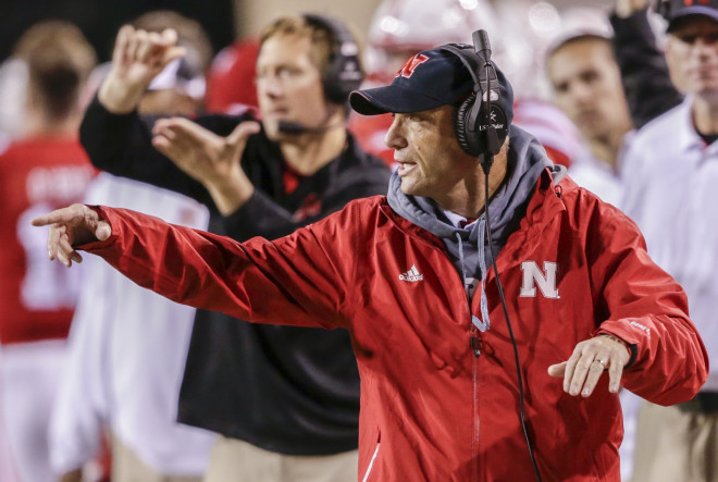 What Mike Riley said after Nebraska's practice on Wednesday
