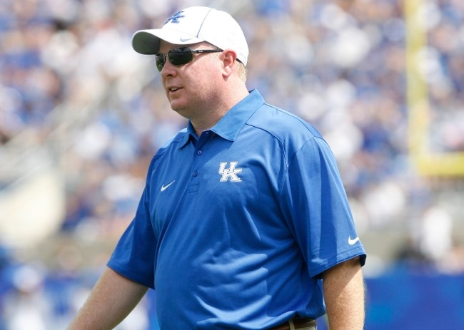 Mark Stoops believes he has Kentucky headed in the right direction.