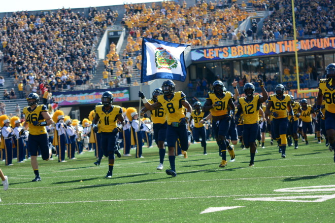 Grier leads No. 23 West Virginia into winless Baylor