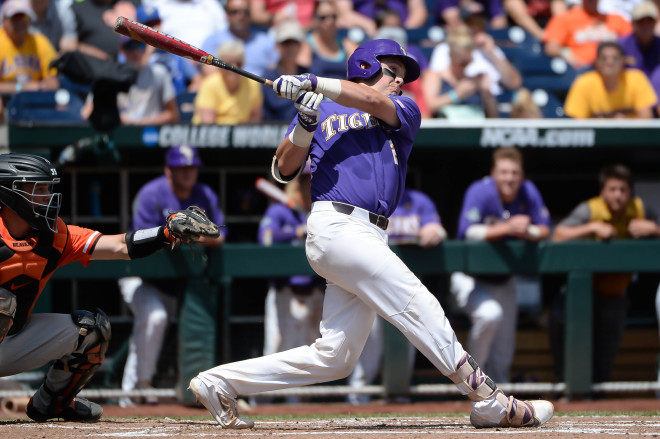Lange, Hess lead LSU past Oregon State - force rematch Saturday