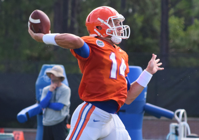 Luke Del Rio named Florida starting quarterback