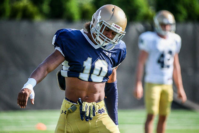 Notre Dame players arrested in 2 incidents