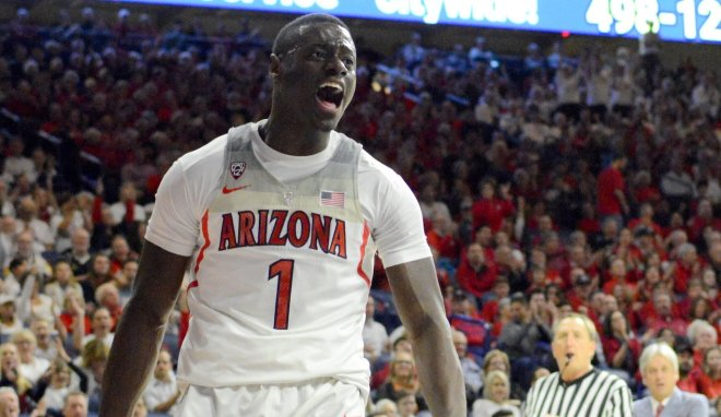 Arizona guard Rawle Alkins out eight to 12 weeks with broken foot
