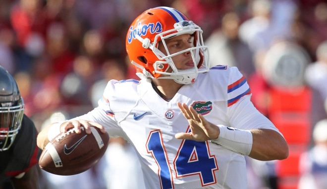 Florida's Luke Del Rio will miss spring practice after shoulder surgery