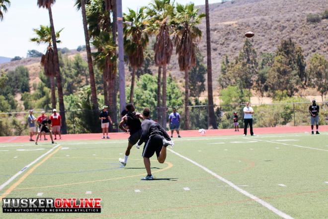 WR Jamire Calvin gets open in one-on-ones