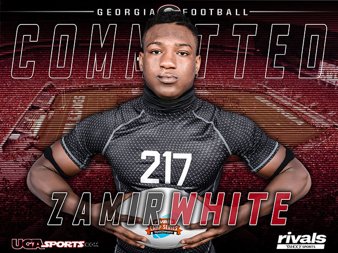 Georgia's five-star commit Zamir White runs like a bullet train