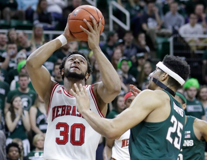 Highly-touted freshmen lead Michigan State to 88-72 win over Nebraska