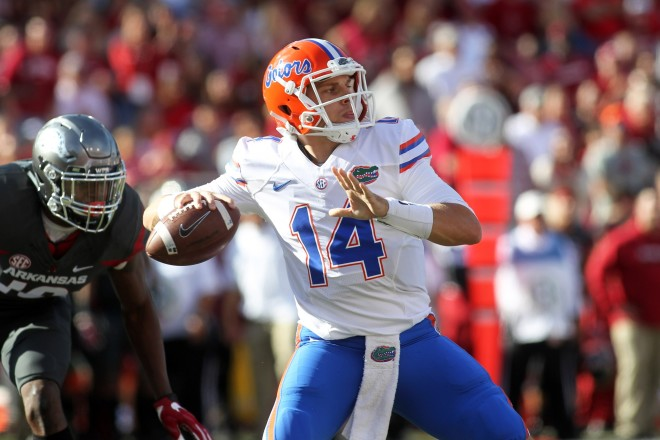 Gators QB Del Rio ruled out with shoulder injury