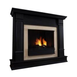 Real Flame Silverton Gel Fuel Fireplace G8600