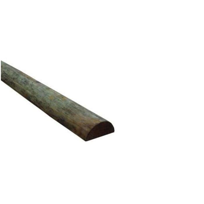 6a001730a6e0 Wood 6 inch x 8 ft Half Round Post 6 X 8 HALF
