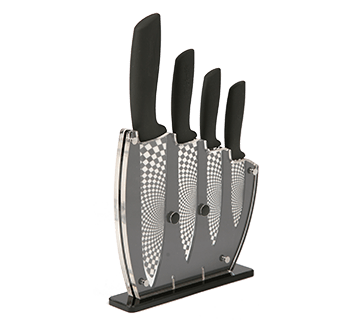 Black Ceramic Knife Set
