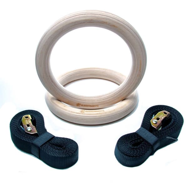 Gymnastics Wood Rings