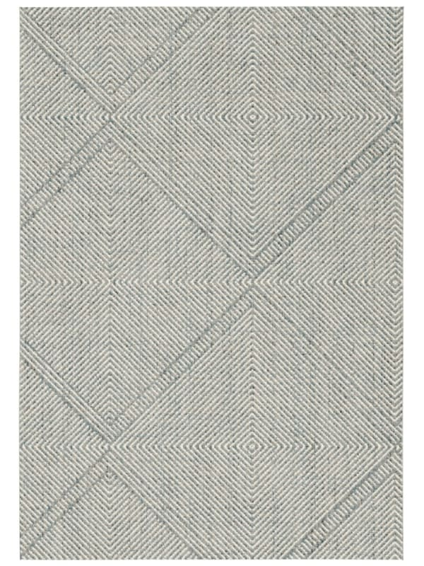 Rugs Original Antique Trend grey blue and cream arrow inspired design rug