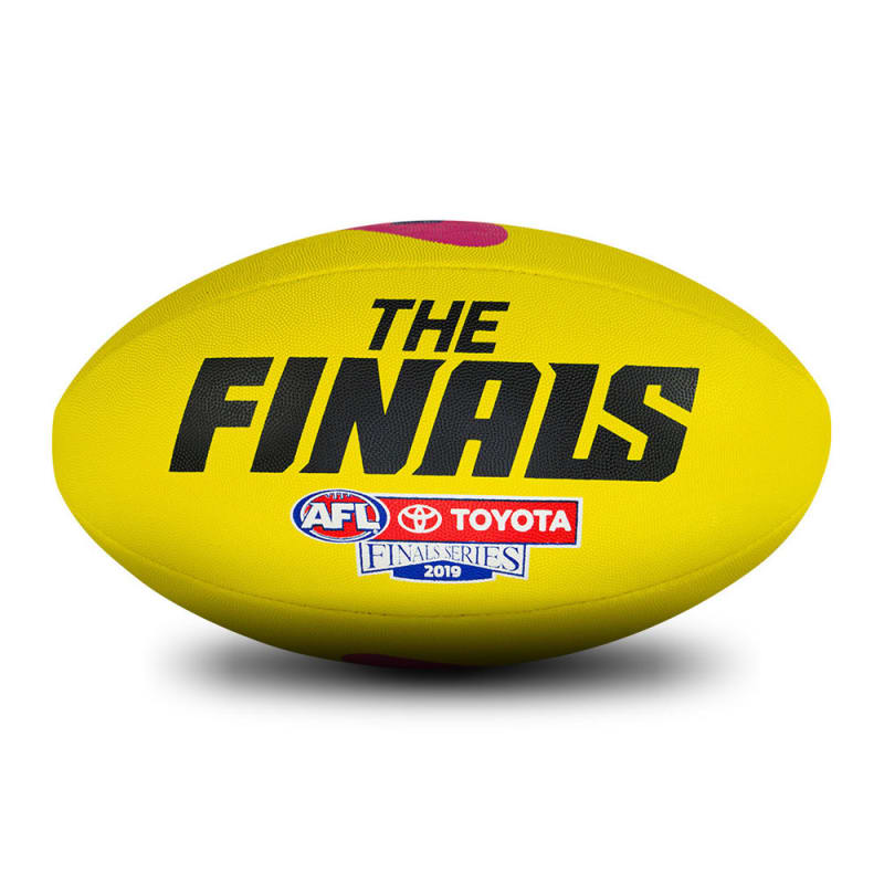 2019 Toyota AFL Finals Series Game Ball Replica - Yellow