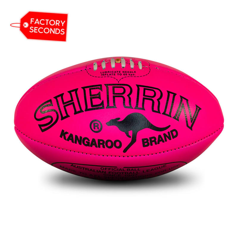 KB Seconds - Poly Fluro Pink Size 5