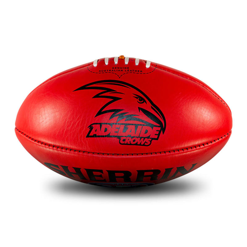 AFL Team Leather Ball - Adelaide Crows