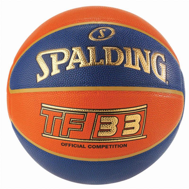 TF33 INDOOR GAME BALL - BLUE/ORANGE - Size 6