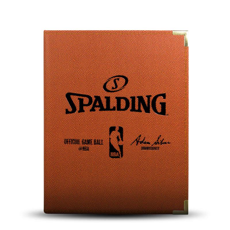 Spalding NBA Folder - A4 Orange