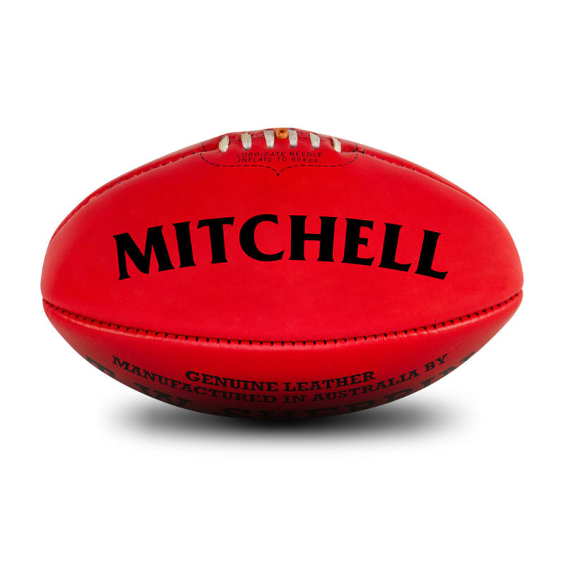 Personalised Sherrin KB Red - Size 5