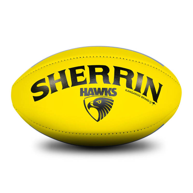 Hawthorn Game Ball - Yellow