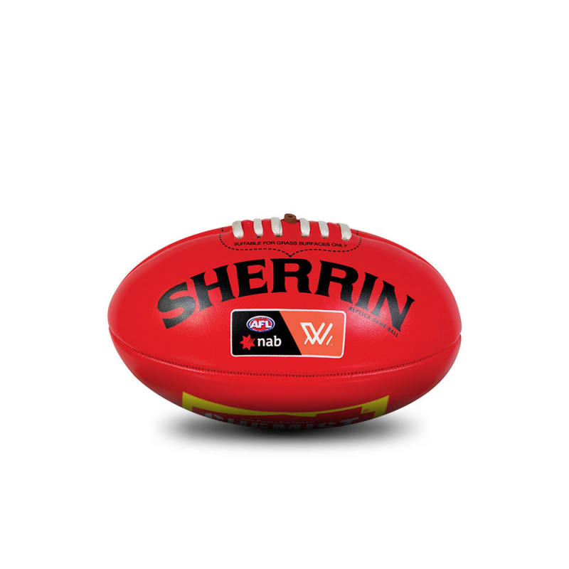 AFLW Replica Mini Ball - Red