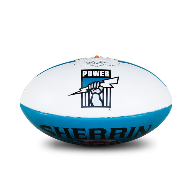 Personalised Port Adelaide Ball - Size 3