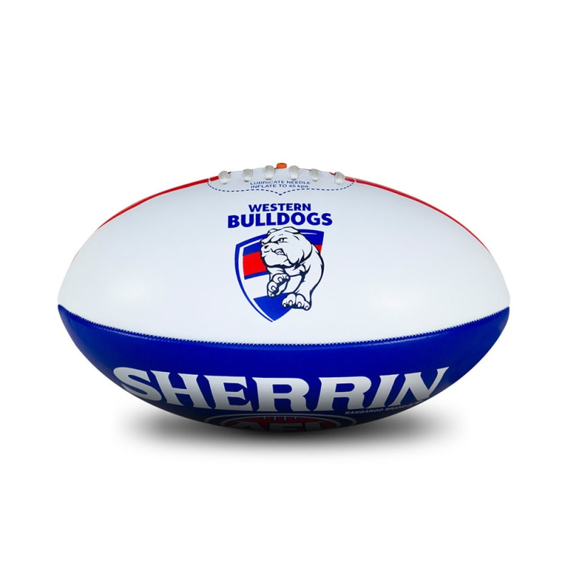Personalised Western Bulldogs Ball - Size 3