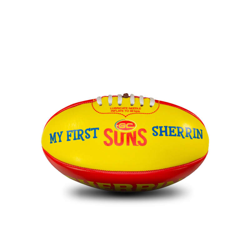 My First Sherrin - AFL Team - Gold Coast
